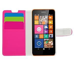 Samrick - Funda protectora para Nokia Lumia 630, rosa
