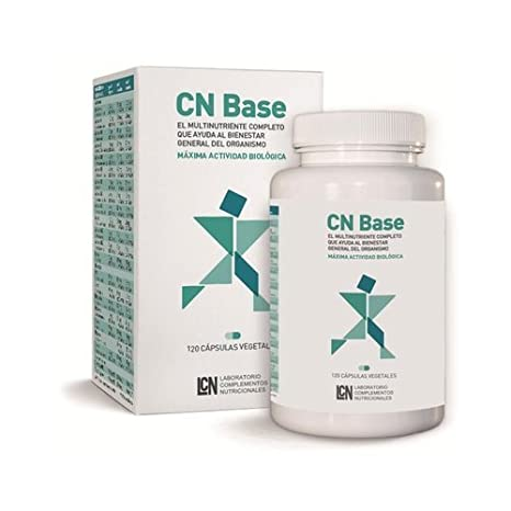 Cn Base 30 cápsulas vegetales de Lcn: Amazon.es: Salud y cuidado personal