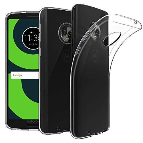 Capa + Pelicula De Vidro Motorola Moto G6 Xt1925 tela 5.7 - Transparente
