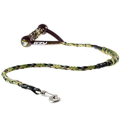EzyDog Cujo Shock Absorbing Bungee Dog Leash - Best Dog Rope Training Lead - Reflective Trim for Nighttime Safety - Padded Pull Handle for Superior Comfort and Control (40