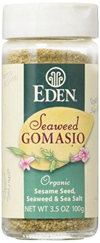 Organic Seaweed Gomasio - Sesame Seeds Seaweed & Sea Salt 3.5 Ounce (100 Grams) Jar by Eden (Image #4)