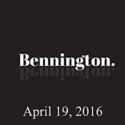 Bennington, April 19, 2016