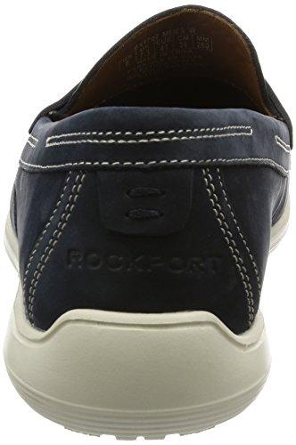 Rockport Total Motion Loafer Penny, Mocasines para Hombre Azul (new Dress Blue)