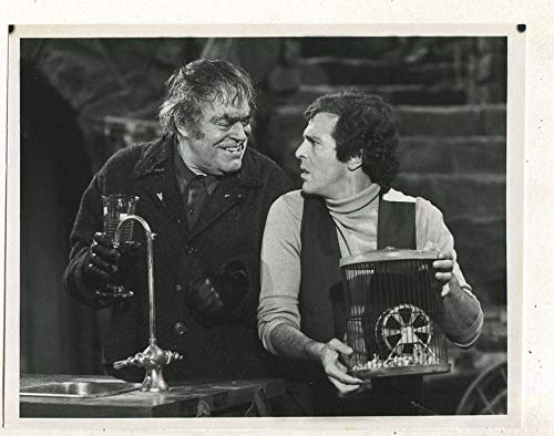 Jack Elam Jeffrey Kramer- Struck By Lighting 1979 CBS TV press photo MBX45