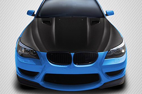 Carbon Creations ED-RBL-828 DriTech DTM Hood - 1 Piece Body Kit - Compatible For BMW 5 Series 2004-2010 ()