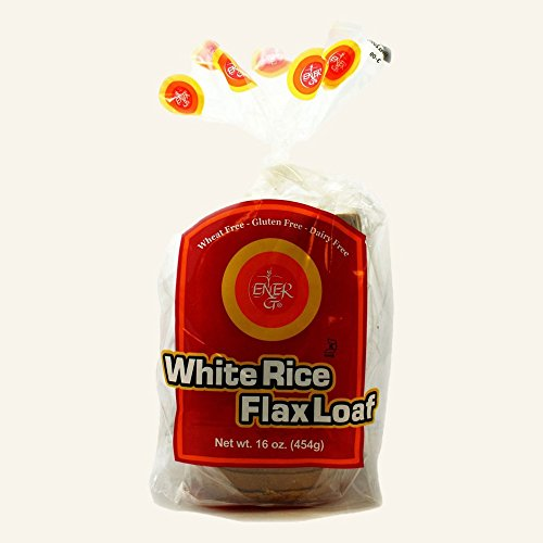 White Rice Flax Loaf Ener-G Foods 16 oz (Ener G Foods White Rice)