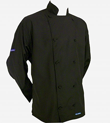 lavender chef coat - 5
