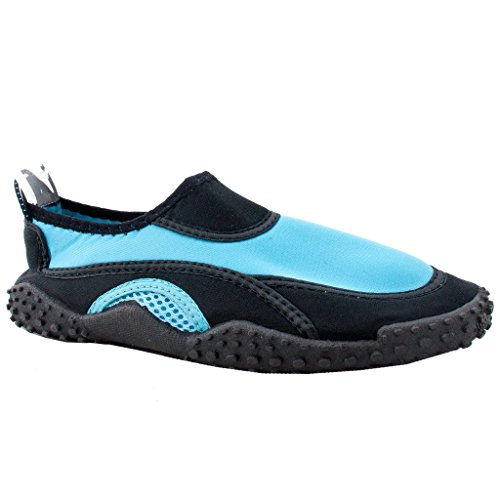 Socks SNJ The Blue Exercise Shoes Light Pool l Beach Trends Yoga Black Aqua Wave Water Women's HwqRSH0