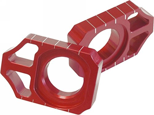 Works Connection Axle Blocks - Red 17-015 (RED)