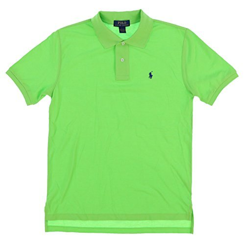 ys Classic Fit Mesh Polo Shirt (Ultra Lime, X-Large (18-20)) ()