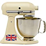 kitchenaid mixer for europe - The Great British Cooking Show Full Color Vinyl Decal Set Kitchenaid Stand Mixer England Great Britain