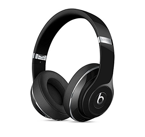 2018 Beats by Dr Dre Studio2 Wireless Bluetooth Over-Ear Headphones with Adaptive Noise Canceling, Built-in Mic (Gloss Black) Studio 2]()