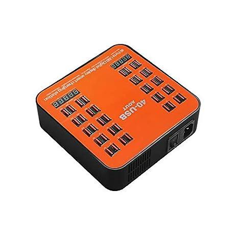 Cargador HUB de 40 puertos para cargador USB QC 5 V 30 A con ...