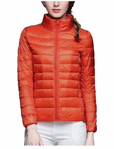 2 Collar Stand Down Puffer Ultra Women's Generic Winter Coats fBxw8zWSq