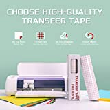 YRYM HT Clear Vinyl Transfer Paper Tape Roll-12 x