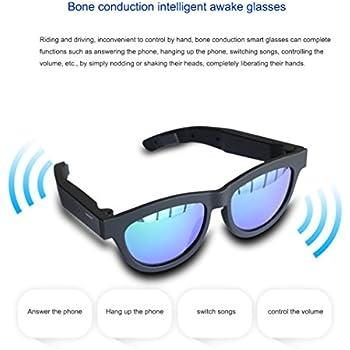 18ad715520c1 Upgrade Version Bone Conduction Intelligent Awake Glasses Polarized  Sunglasses