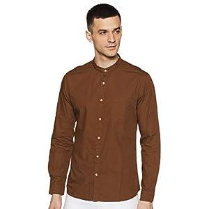 Byford By Pantaloons Men's Slim Fit Casual Shirt 15 41q3jld5zPL. SS300