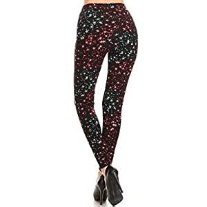 Print Leggings Star Trend (R895-OS)