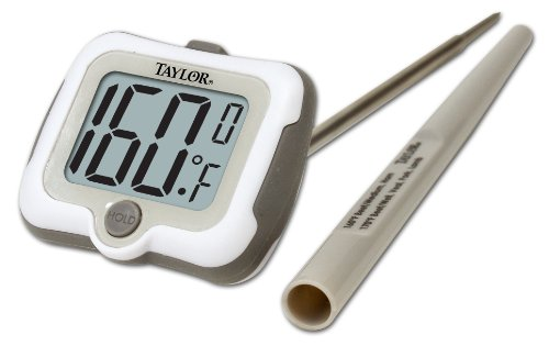 Taylor Precision Products Pro Adjustable Head Digital Thermometer (Cooking Taylor Thermometer)
