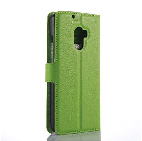 Funda Lenovo A7010,Manyip Caja del teléfono del cuero,Protector de Pantalla de Slim Case Estilo Billetera con Ranuras para Tarjetas, Soporte Plegable, Cierre Magnético I