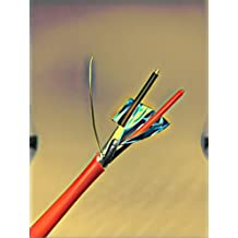 FPLR With Shield Shielded Riser Fire Alarm Wire Cable 14AWG 14 AWG 2C 2 Conductor Shield 1000FT FPLR Riser