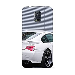 First-class Cases Covers For Galaxy S5 Dual Protection Covers White Ac Schnitzer Bmw M Coupe Rear Angle