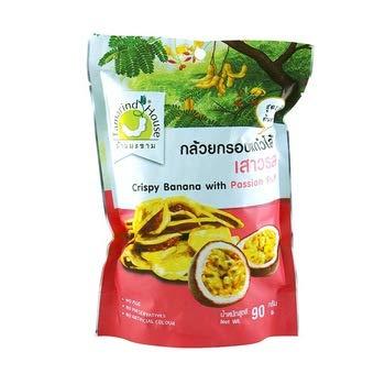Tamarind House Crispy Banana with Passion Fruit 90 g.