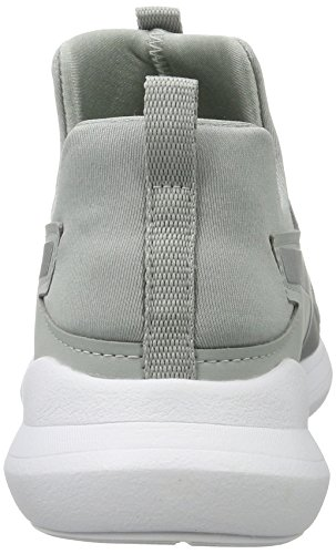 quarry Gris Baskets Hautes Mid silver Rebel Puma Femme wgqfRxS