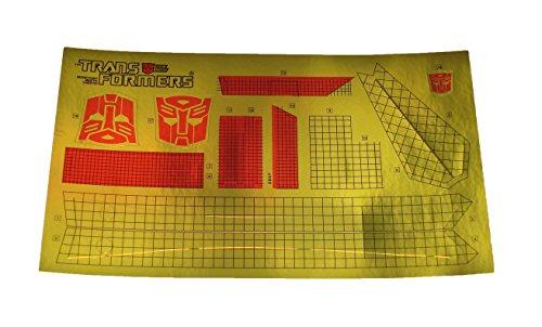 Sky Lynx - TFK Transformers G1 Sky Lynx Sticker Sheet