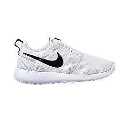 Nike Womens Roshe One Running Shoes (10 B(m) Us)(whitewhiteblack)
