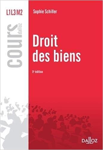 Livre gratuits Droit des biens - 5e éd.: Cours pdf epub