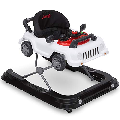 Jeep Classic Wrangler 3-in-1 Grow with Me Walker, White