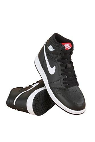 Nike Jordan Kids Air Jordan 1 Retro High OG Bg Black/White Black Unvrsty Red Basketball Shoe 6 Kids