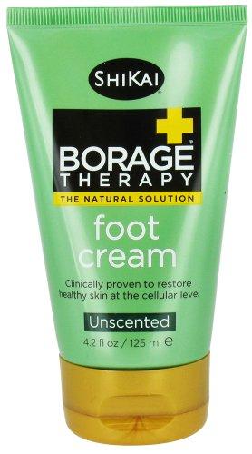 Shikai Products Shikai Borage Therapy Foot Cream Unscented - 4.2 Fl Oz Hgp0517912