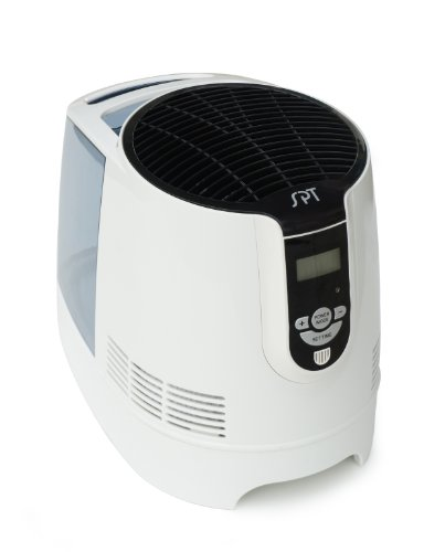 SPT SU-9210 Digital Evaporative Humidifier with 1-Gallon Tank