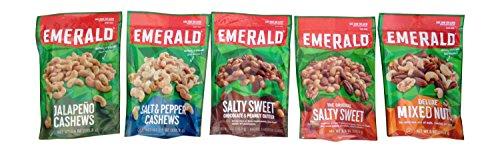 Emerald Nuts Variety Sampler 5pk