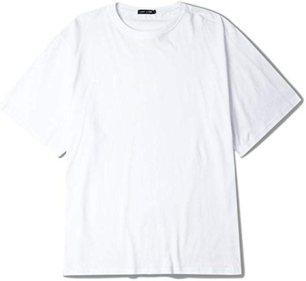 Camiseta3 Pack Hombres Mujeres Parejas Camiseta Verano Swag Camiseta de Gran tamaño algodón Hip-Hop Streetwear Camisetas de Manga Corta Top multicolor-B0452CJ Blanco_S: Amazon.es: Ropa y accesorios