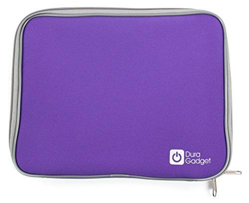 DURAGADGET Purple Travel Water-Resistant Neoprene Sleeve With Dual Zips for...