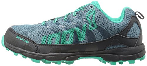 Inov Gris u Bleu Runner Adultes Pour Roclite 280 Unisexe 8 Trail Turquoise P60q6p