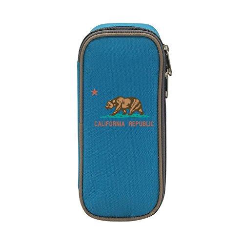 Big Capacity Canvas Mobile Phone Box Holder for Men Print Ca