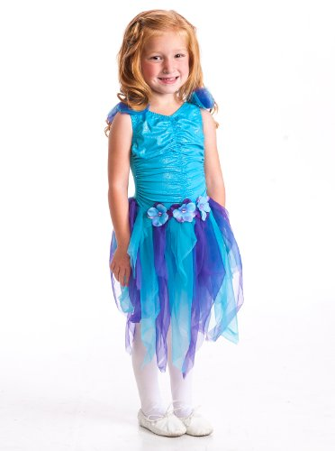 Little Adventures Teal Fairy Girls Costume - Small (1-3 Yrs)