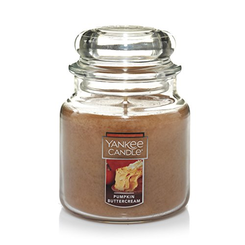 - Yankee Candle Medium Jar Candle, Pumpkin Buttercream