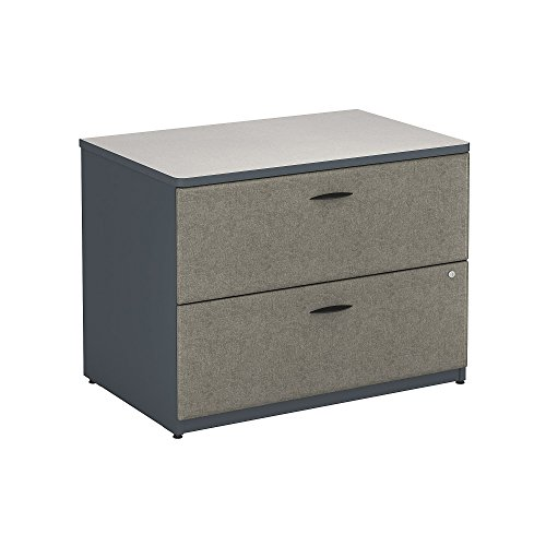 Bush Business Furniture Series A Collection 36W 2Dwr Lateral File in White Spectrum Review