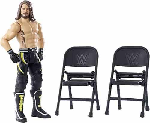 Mattel WWE Wrekkin' AJ Styles - Chairs