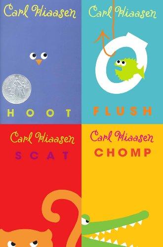 Carl Hiaasen Collection: Hoot, Flush, Scat, Chomp ()