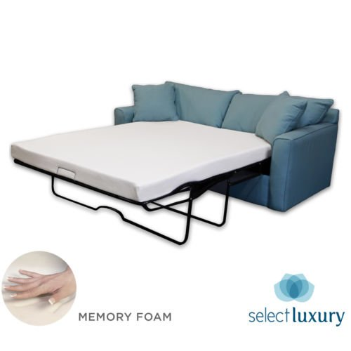 New Life 4.5in Memory Foam Mattress Pullout Bed for Sleeper Sofa (Full) (New Sofa Bed)