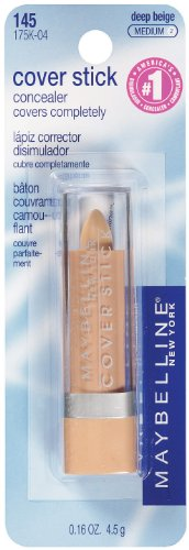 Maybelline New York Stick Correcteur étanche, Deep Beige - 0,16 oz