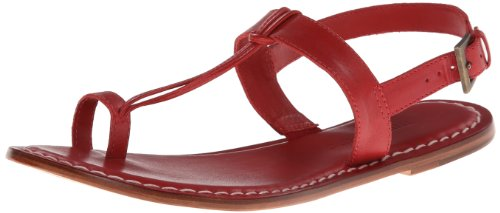 Bernardo Women's Maverick Toe Ring Sandal,Red,7.5 M US
