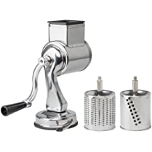 Fante's Cousin Nico's Suction-Base Cheese Grater, 2 Drums by HIC Harold Import Co.
