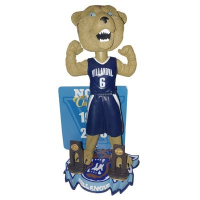 Villanova Wildcats Multiple Men's College Basketball National Championships Bobblehead Bobble head - Individually Numbered to Only 216 by Forever Collectibles